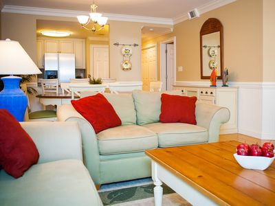 Photo for luxury pool view 3 b/ 2.5 bath condo has it all;.Great location, close to Pier