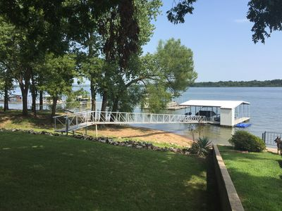 Photo for Tournament Fishing!  Dock access and 1/2 mile to Wolf Creek Park and Boat Launch