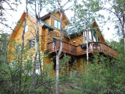 Photo for Log Chalet with views... Only Minutes From Fairbanks