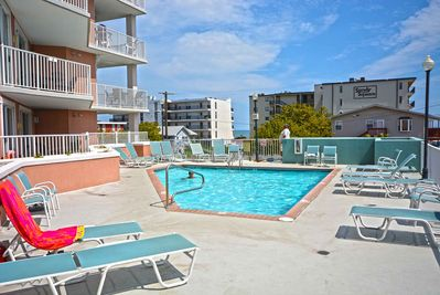 Outdoor Pool, Mayfair Beach