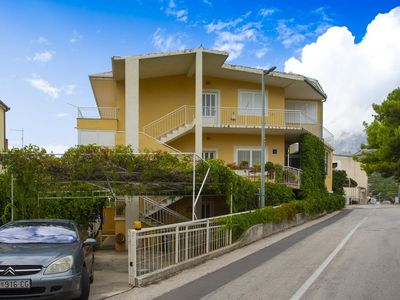 Photo for Two bedroom apartment with terrace Podgora, Makarska (A-12816-a)