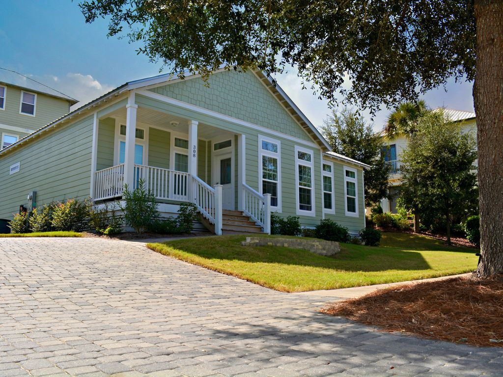 One Level 30a Cottage Ious Quiet Location In Blue Mountain Beach
