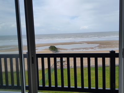 Photo for Blonville beautiful seafront apartment 10 minutes from Deauville