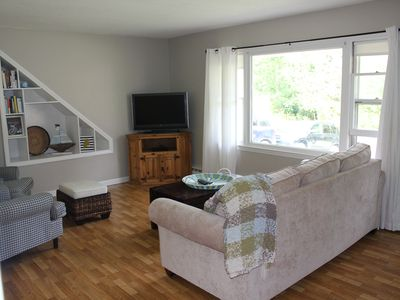 Photo for NEW RENTAL: Cozy, clean, pet friendly beach house steps to Short Sands!!