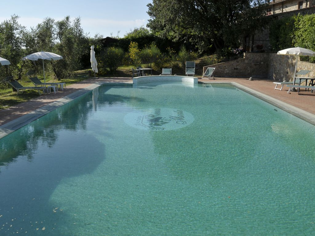 Apartment In A Farmhouse On The Ground Floor With Garden And Swimming Pool Use Gambassi Terme