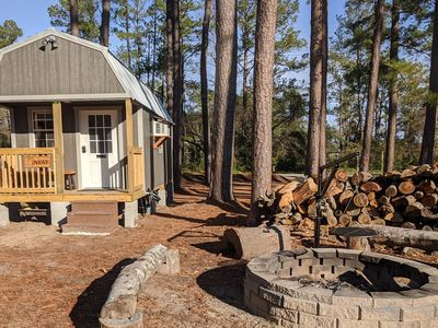 Photo for The Sanderling Tiny Cabin Water Access/Private Shared dock
