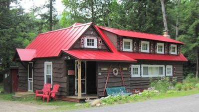 "Photo for Fairy-tale Cabin in White Mountains, Historic Charm ""Dundee Lodge"" - Sleeps 5-6"