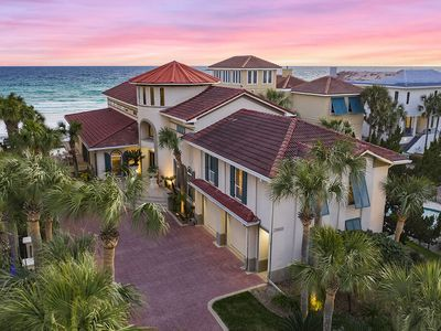 Photo for Gulf Front Home with Private Pool, Golf Cart, 2 Kitchens and Sitting Areas!