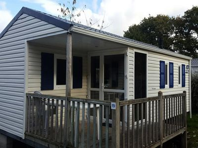 Photo for Camping Entre Terre et Mer *** - Mobile home Comfort 3 Rooms 4 People