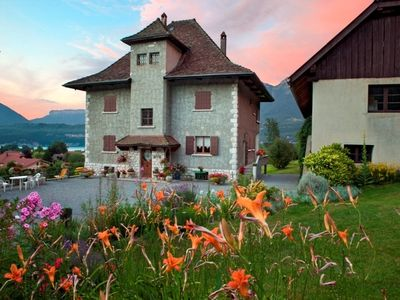 Photo for A flat to rent in a charming house close to the lac of annecy and mont blanc