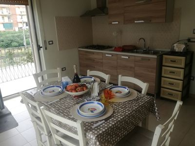 Photo for Mariella's House offers comfortable rooms and free Wi-Fi.