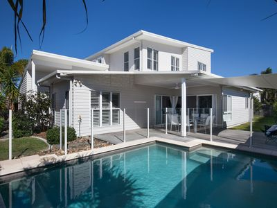 Photo for Boardrider Beach House - close enough to hear the beach - pet friendly