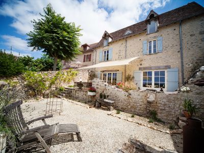 Photo for Beautifully renovated village house with stunning views & fantastic location