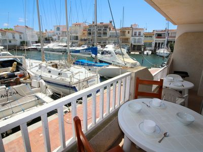 Photo for Apartment just 600 meters from the beach in Empuriabrava