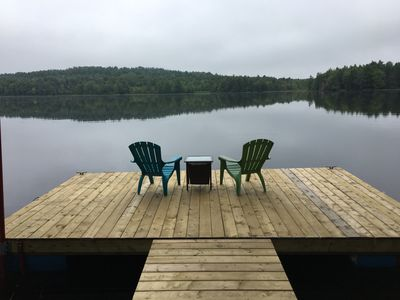 Photo for Beautiful Lakefront Cottage with Bunkhouse on Lake Woolenhaupt