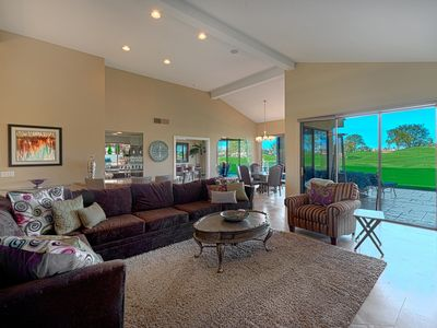 Photo for Stadium Course on Pebble Beach, Spacious PGA West Home , Private Patio & Dining, Pool & Spa Access