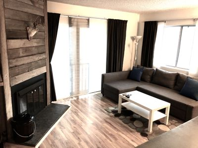 Photo for Nice and stylish 1bd. On Main street, walk to lifts, bars..etc.