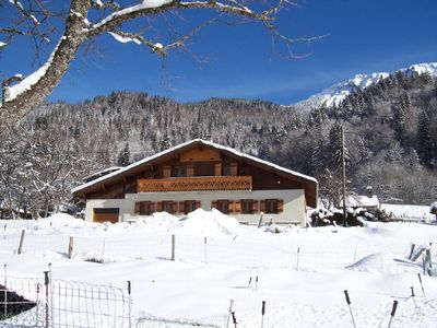 Photo for Outstanding detached ski chalet in Morzine Avoriaz area with sauna & games room