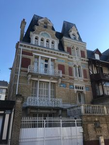 Photo for 150 m from the sea - Studio in Trouville in a charming Norman building