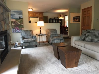 Spacious, clean interiors for your group to gather and celebrate