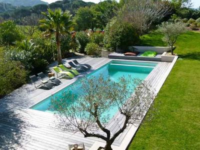 Photo for villa 7 bedrooms heated pool Gigaro