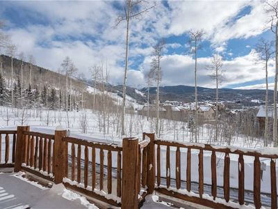 Photo for Big Views, Sunny Ridgetop Condo at the Edge of the Core