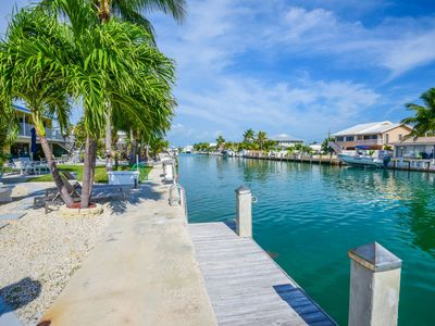 Photo for *GRAND OPENING* Barefoot By The Keys- Private Dock/Cabana Club Access