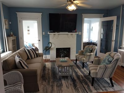Photo for Charming Vacation Home in the Heart of Ventnor NJ ~ Close to Beach, Boards & Bay