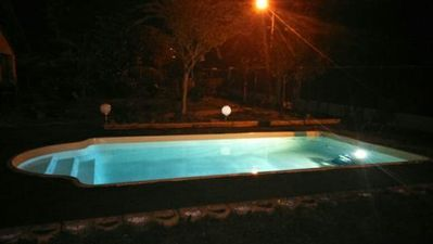 Photo for beach walk, charming villa with pool, terrace, quiet garden. swimming pool