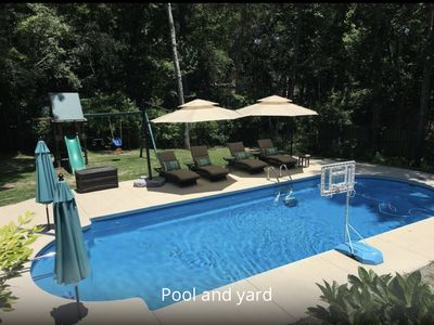 Photo for Large private pool, minutes to Wrightsville Beach!