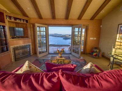 Photo for Spectacular Lake and Vineyard Views, Secluded