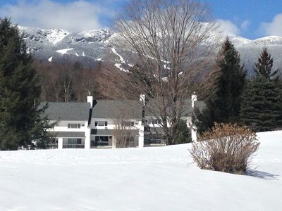 Photo for The Lodge condo in Stowe, ski-in ski-out, pool, tennis on Mt. Road