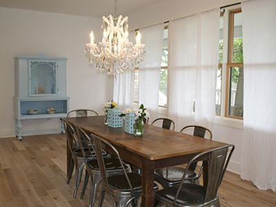 Photo for Shabby Chic Beach house get away, a stone's throw from the Hamptons's /shops :)