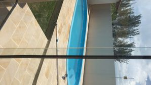 Photo for House on South Atlantida beach, pool and kiosk with barbecue