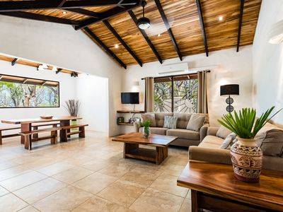 Photo for Your Private Beachfront Oasis On White Sand Secluded Playa Grande Beach