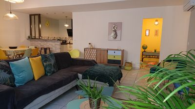 Photo for House comfort, furnished with tourism classified 4 * in the heart of Marseillan.