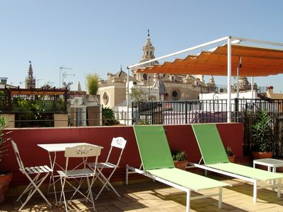 Photo for Beautiful attic apartment in the historic centre of Seville