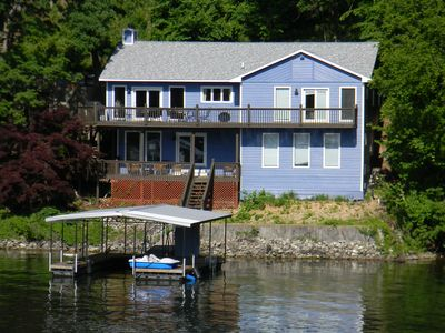 Photo for Right on the water with a great view and cove protection