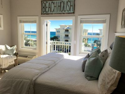 Photo for Spectacular Ocean View! Great Location On 30A / King Bed, WIFI ,Newly Remodeled!