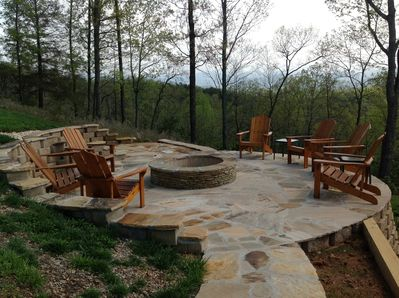 It's time to enjoy the fire pit.  Come join us!
