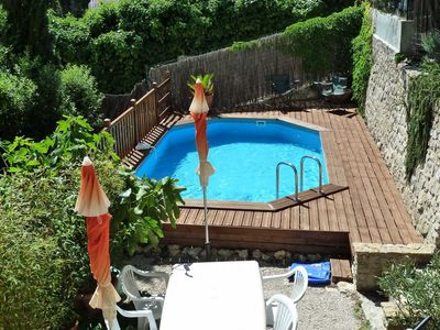 Photo for T4 villa with pool 400m from the sea, between Bandol and Sanary