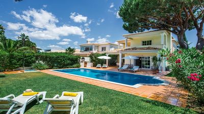 Photo for 4 bedroom Villa, sleeps 8 with Pool and Air Con