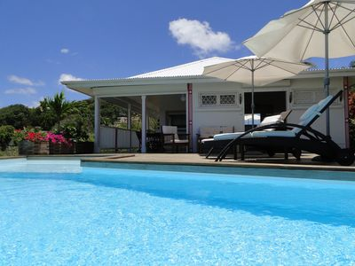 Photo for Rental villa has Tarare St-Francois, sea view 180 °, range 80 m.