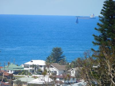 Fabulous Pacific Ocean views from balcony of the property