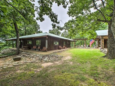 Photo for 'Pine Lodge Cabin' on 450 Acres in Ozark Mountains