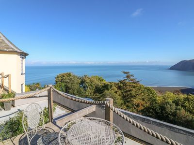 Photo for C S LEWIS BALCONY, family friendly in Lynton, Ref 991871