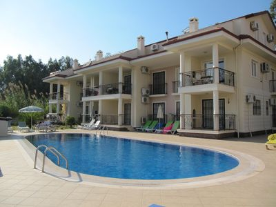 Photo for Beautiful Spacious Duplex Apartment, With Shared Pool, Calis Beach