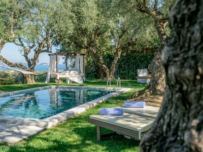 Photo for Vafias Private Pool Villa, suitable for 14-16 persons in Lithakia, Zakynthos