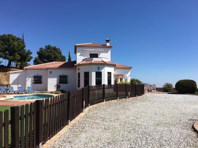 Photo for Villa with Sea and Mountain Views, Private Pool, Games Shack