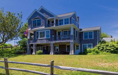 Photo for Enjoy your sunrise and sunset near the water with this delightful cape cod home.